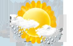 leichter Regen - Schauer